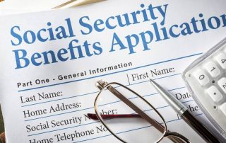 social security benefits application image